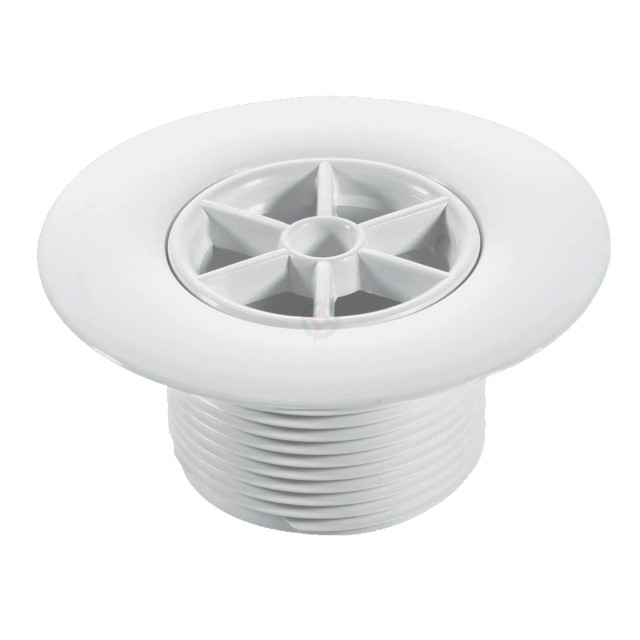 McAlpine 40mm White Plastic Waste with 85mm Flange STW85WH
