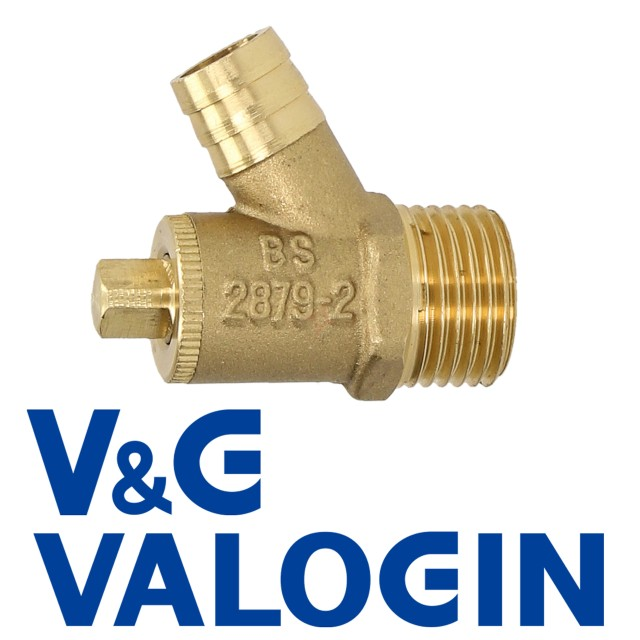 "V&G Type A 1/2"" Threaded Drain Off Valve"