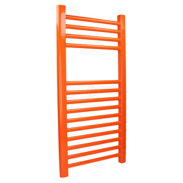 Straight Traffic Orange, 800h x 400w Towel Warmer