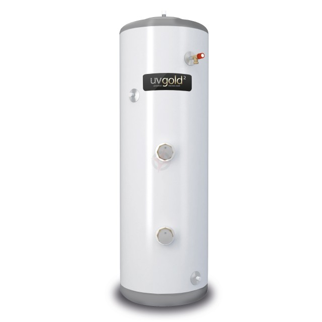 uvgold2 210L Direct Unvented Hot Water Storage Cylinder & Kit