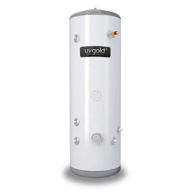 uvgold2 180L Indirect Unvented Hot Water Storage Cylinder & Kit