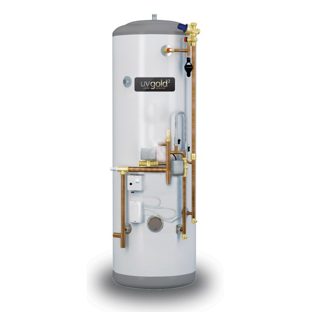 uvgold2 210L System Fit Unvented Hot Water Storage Cylinder