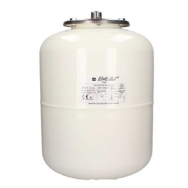 CLEARANCE - Imera White 18 Litre Potable Multifunction Expansion Vessel