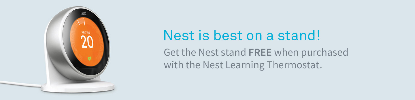 Nest is best on a stand